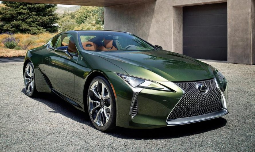 New Lexus LC Coupe Limited Edition gets unique colour and interior
