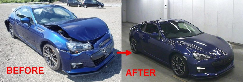 Accident Damage or Grade R vehicles from Japan to NZ ...