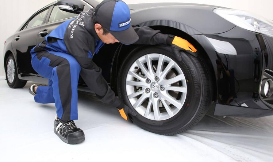 Performing a Tire Change