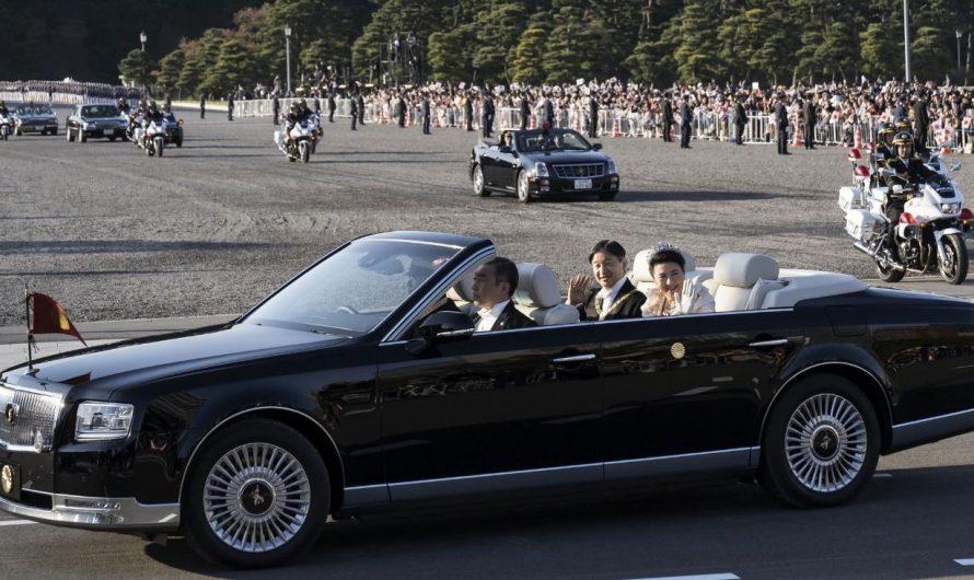 El Auto Que Utiliso El Nuevo Emperador de Japon