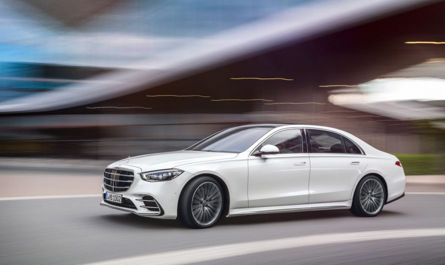 Brand New 2021 Mercedes S Class Revealed