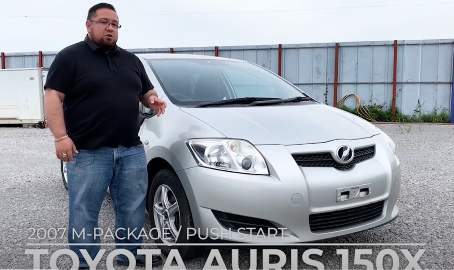 2007 TOYOTA AURIS 150X M-PACKAGE / PUSH START