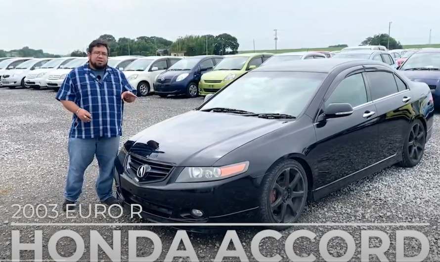 HONDA ACCORD EURO R Modified car / Reviewed by a used car specialist!!