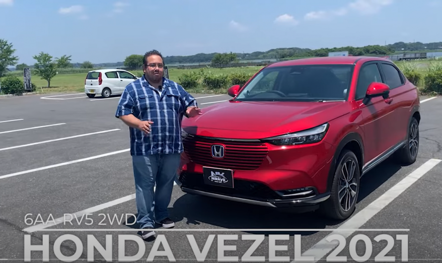 Join us in reviewing the features of the new HONDA VEZEL 2021.