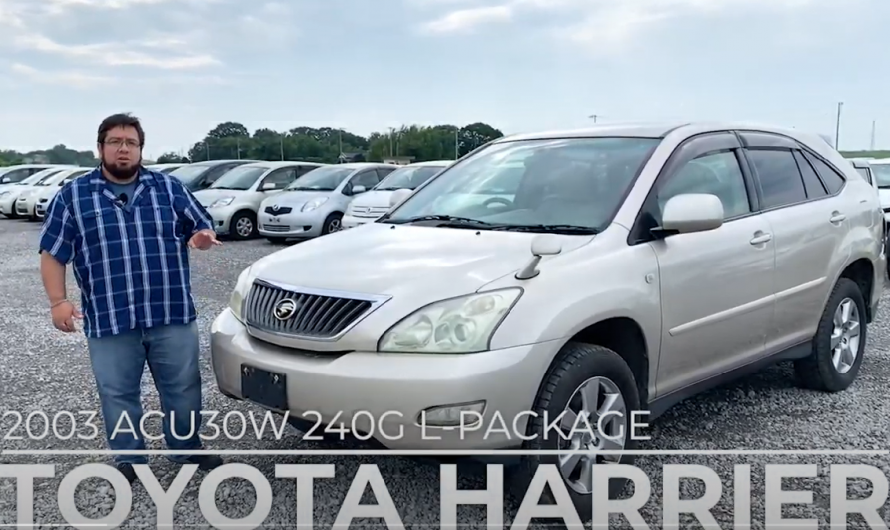 TOYOTA HARRIER ACU30W 240G L-PACKAGE/ Reviewed by a used car specialist!!